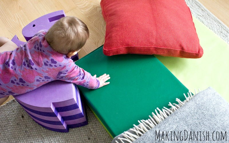 how to keep a baby entertained and active indoors
