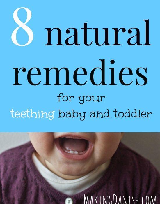 8 natural teething remedies