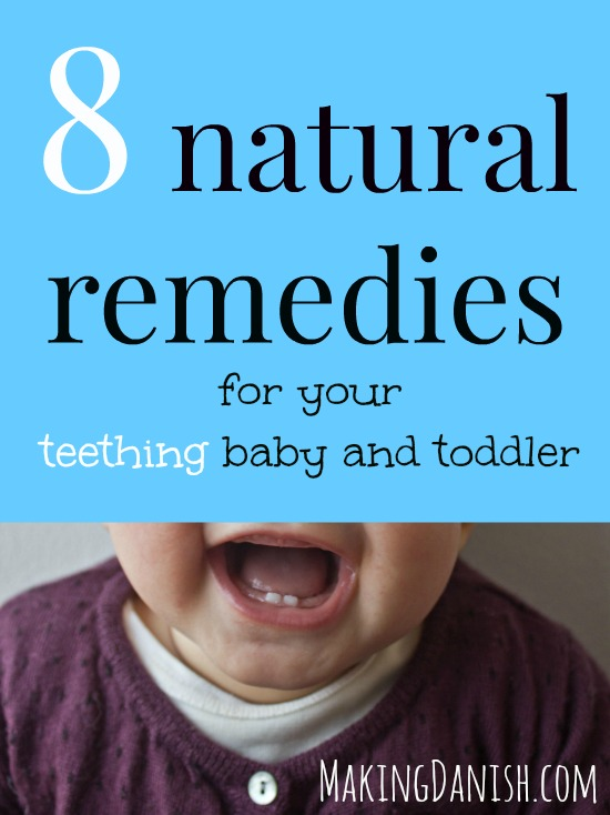 8 natural teething remedies