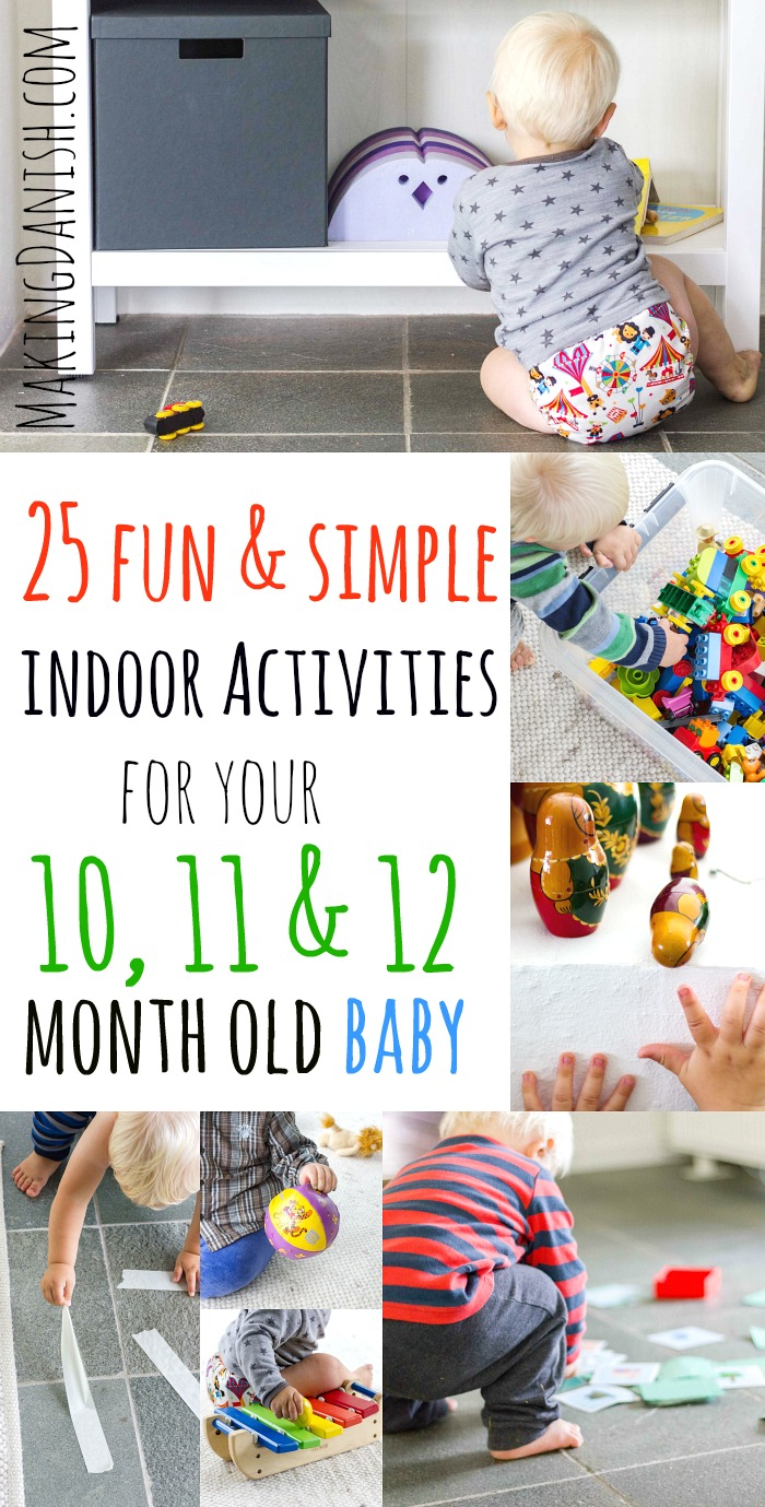 25 Fun Indoor Activities For Your 10 12 Month Old Baby