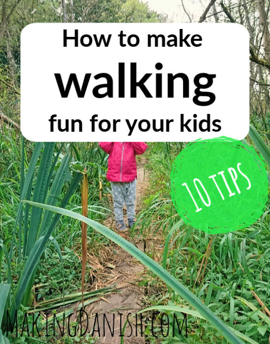 make walking fun for kids